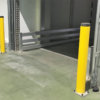 Protection Post 600mm High – Bolt-Down Black & Yellow